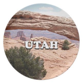 Utah: Mesa Arch, Canyonlands National Park, USA Party Plate