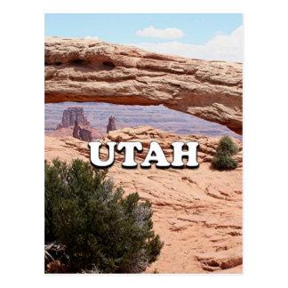 Utah: Mesa Arch, Canyonlands National Park, USA Postcard