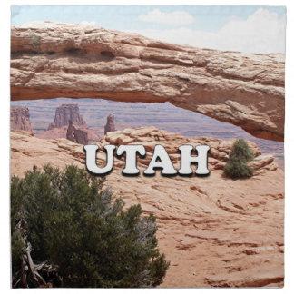 Utah: Mesa Arch, Canyonlands National Park, USA Printed Napkins
