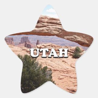 Utah: Mesa Arch, Canyonlands National Park, USA Star Sticker