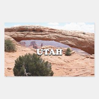 Utah: Mesa Arch, Canyonlands National Park, USA Sticker