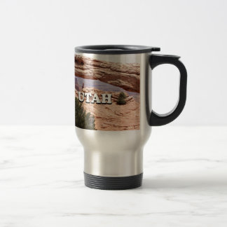 Utah: Mesa Arch, Canyonlands National Park, USA Travel Mug