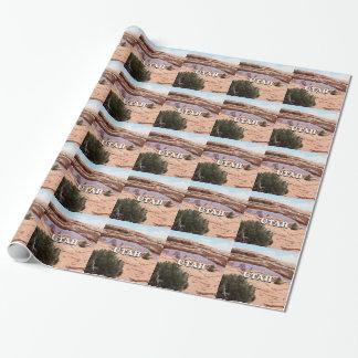Utah: Mesa Arch, Canyonlands National Park, USA Wrapping Paper