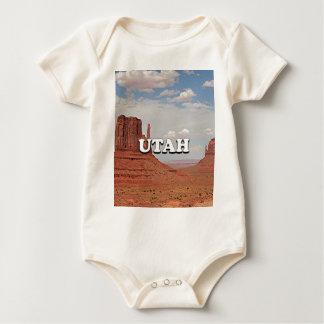 Utah: Monument Valley, USA Baby Bodysuit