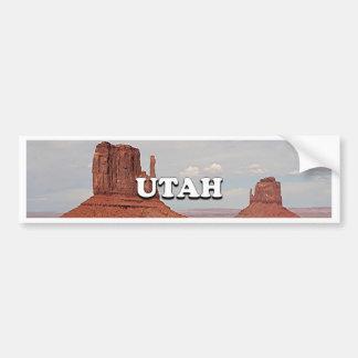 Utah: Monument Valley, USA Bumper Sticker