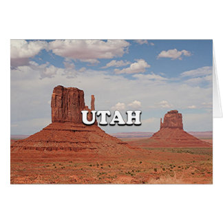 Utah: Monument Valley, USA Card