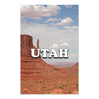 Utah: Monument Valley, USA Stationery