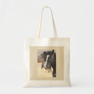 UTAH ONAQUI MOUNTAIN STALLION ON COTTON TOTE