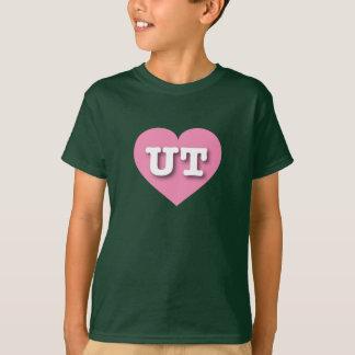 Utah Pink Heart - Big Love T-Shirt