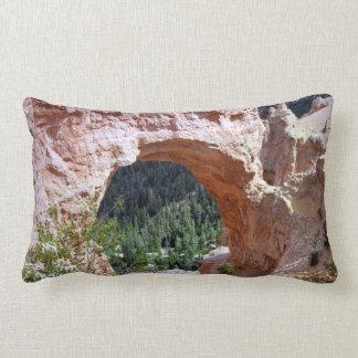 Utah Red Rock Arch Canyon Desert Southeastern Lumbar Pillow