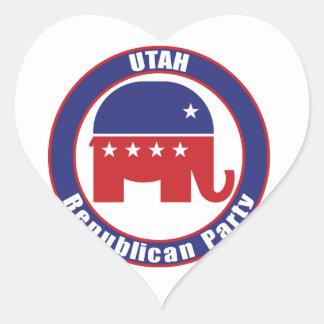 Utah Republican Party Sticker