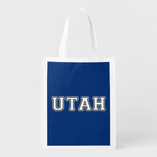 Utah Reusable Grocery Bag