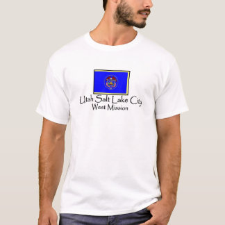 Utah Salt Lake City West LDS Mission T-Shirt