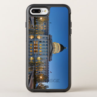 Utah State Capitol In Reflecting Fountain At Dusk OtterBox Symmetry iPhone 8 Plus/7 Plus Case