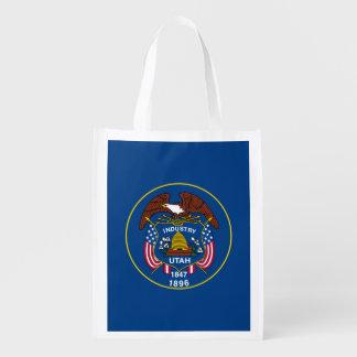 Utah State Flag Design Market Totes