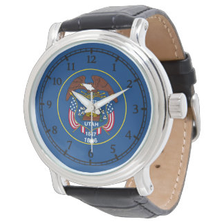 Utah State Flag Watch Design