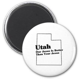 Utah State Slogan Magnet