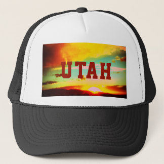Utah Sunset Trucker Hat