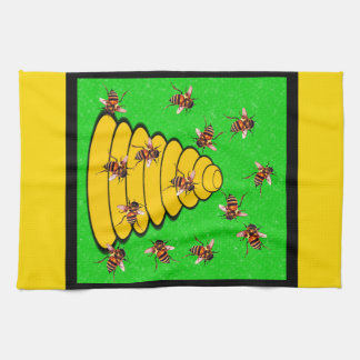 Utah The Beehive State Kitchen Towel