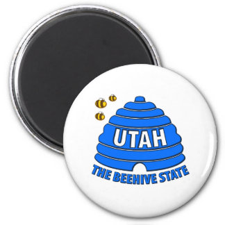 Utah: The Beehive State Magnet