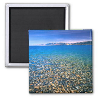 UTAH. USA. Clear water of Bear Lake reveals Magnet