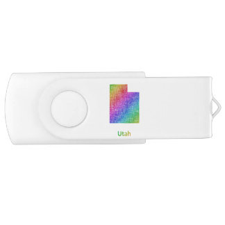 Utah USB Flash Drive