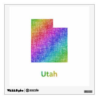 Utah Wall Sticker