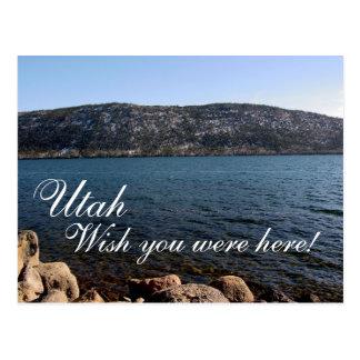 """Utah, """"Wish you were here"""" Postcard"""