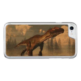Utahraptor dinosaur in the desert - 3D render Carved iPhone 8/7 Case
