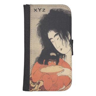 Utamaro's Japanese Art custom wallet cases