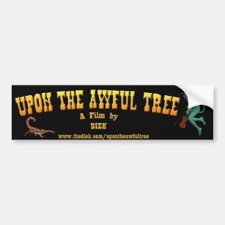UTAT Bumper Sticker - Title