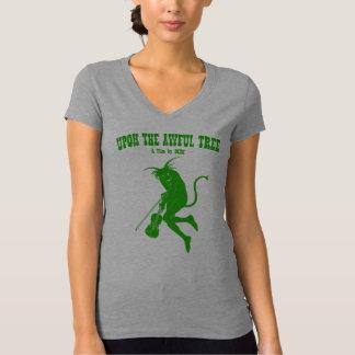 """UTAT """"Simple Green"""" Women's V-Neck Tee"""