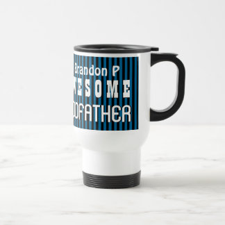 UTEMPLATE Awesome GODFATHER with STRIPES A07T Travel Mug