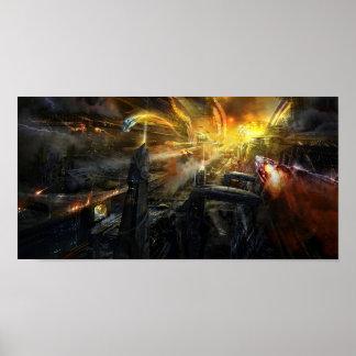 Utherworlds Battlestar Poster