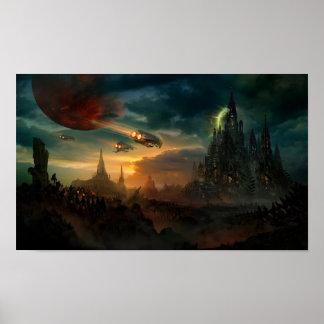 Utherworlds: Sosheskaz Falls Poster