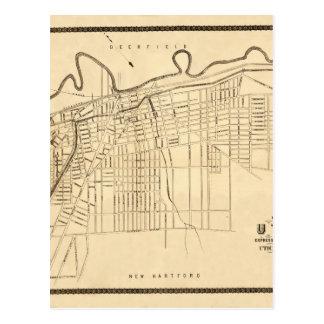 Utica 1874 postcard