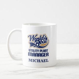 Utility Plant Manager Personalized Mug Gift
