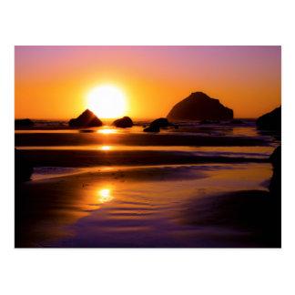Utopia - Face Rock, Bandon, Oregon Postcard