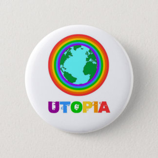 Utopia planet 2 inch round button