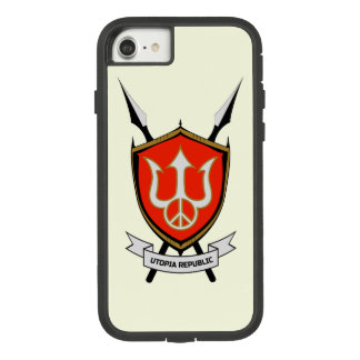 Utopia Republic iPhone 8/7 Case. Case-Mate Tough Extreme iPhone 8/7 Case