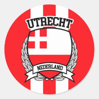 Utrecht Classic Round Sticker