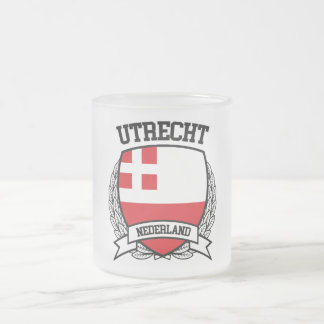 Utrecht Frosted Glass Coffee Mug