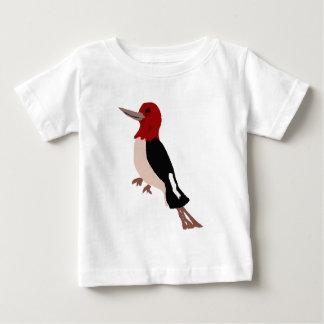 UU- Amazing Red Headed Woodpecker Art Baby T-Shirt