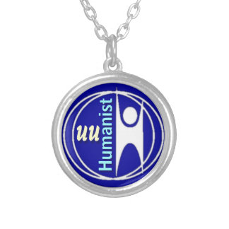 UU Humanist Silver Plated Necklace