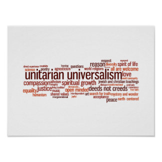 UU Word Cloud reds Poster