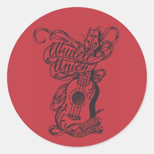 "UUoB/H 3"" Sticker: Tattoo Design Classic Round Sticker"