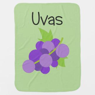 Uvas (Grapes) Baby Blanket