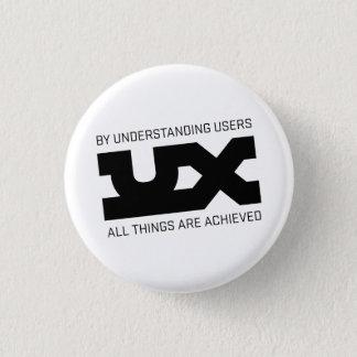 UX Mantras 1 Inch Round Button