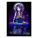 """Uxia"" Mermaid Greeting Card"