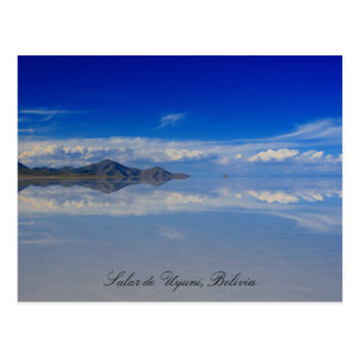 uyuni salt plains postcard
